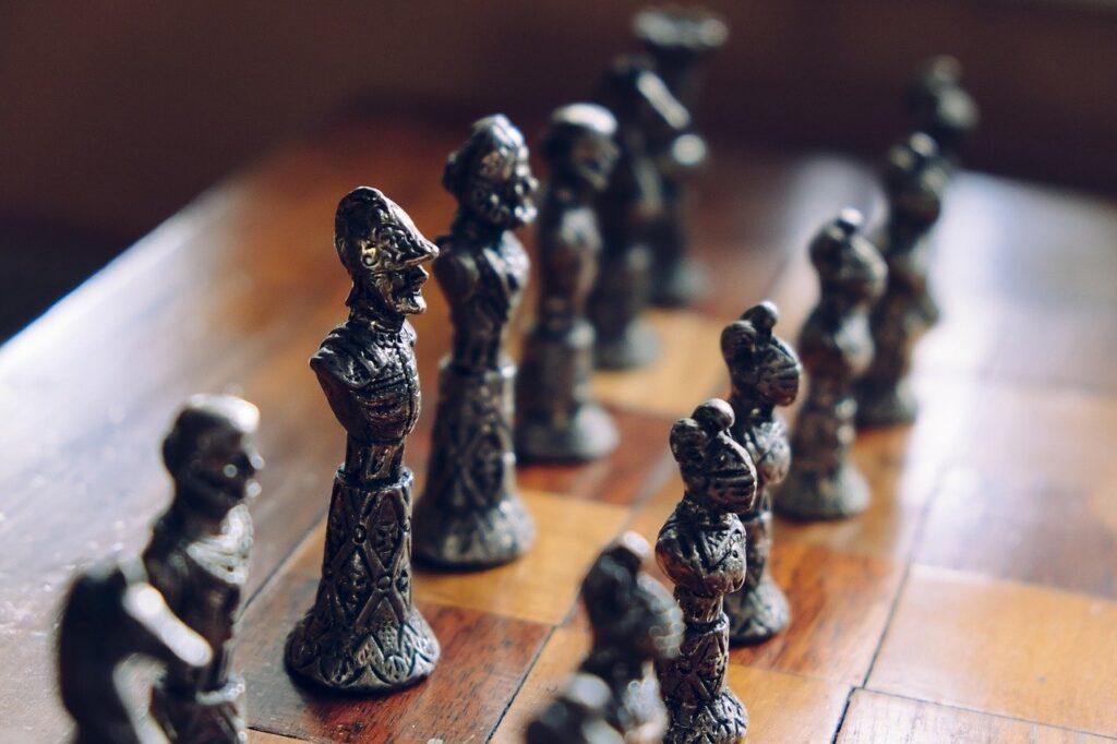 chess, game, fun