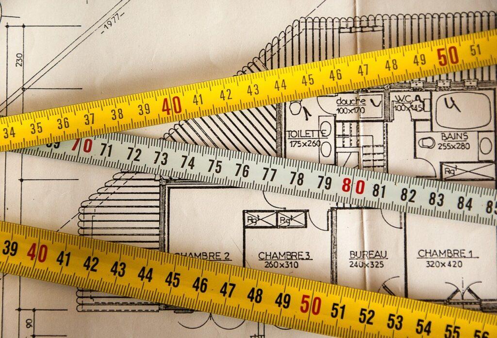 plan, building, measurement